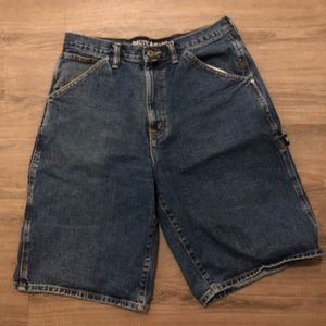 Nautica men's denim carpenter shorts 34